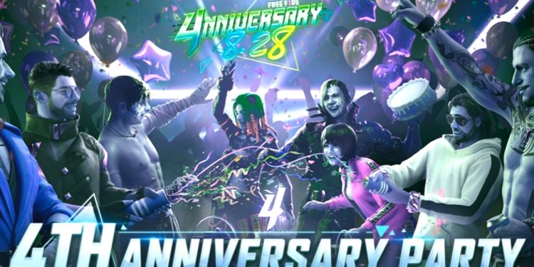 Free Fire OB29 new update, Features and 4th Anniversary party launch